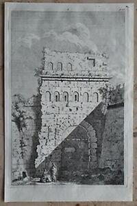 Jacopo-AMIGONI-1682-1752-Original-Kupferstich-Anno-1739-Italien-Rom-Antike-5