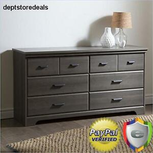 Image Is Loading Bedroom Double Dresser 6 Drawer Provincial Solid Wood