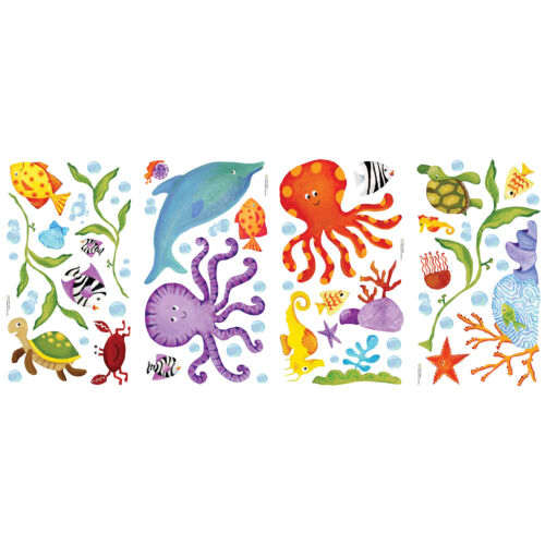Nautical Wall Stickers Wall Stickers Sea life Roommates Sea Wall Stickers