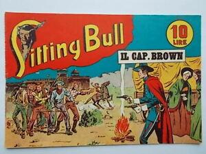 il cap brownalbo saturniasitting bull41949fumetti western Marijac Dut razzo
