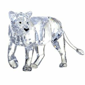 Swarovski Clear Crystal Lion Mother Figurine 1194085