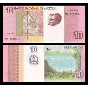 Angola 10 Kwanzas 2012 ( 2017 ) Unc P 151b Ksdpjqah-07224808-447780193