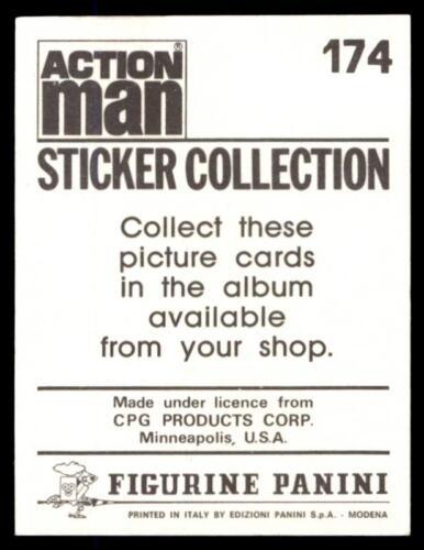 Panini Action Man Sticker 1983 No 174