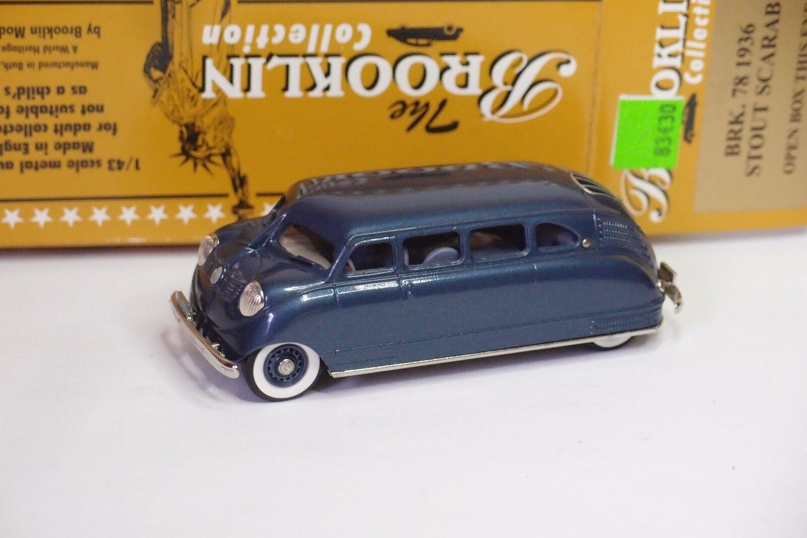 Un fou de Noël remporte une grande concurrence BROOKLIN BROOKLIN BROOKLIN BRK 78 1936 STOUT SCARAB 1/43 | Pratique Et économique  e87576