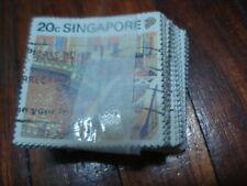 1990  Singapore Definitive 20c in Bundle.