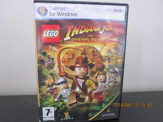 Lego Indiana Jones The Original Adventures Pc 2008 European
