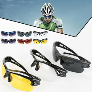 Anti-Shock-Outdoor-Sonnenbrille-UV400-Biking-Running-Fishing-Golf-Sportbrille