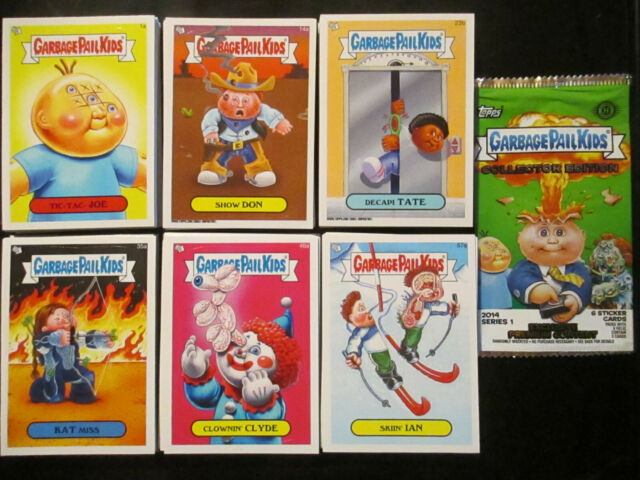 Topps Garbage Pail Kids 2014 Series 1 Complete 132 Card Base Set Pack