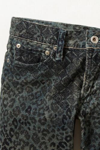 Pantalon Noir Tag Cords Nw 3 Taille Leopard Anthropologie us Kapital Motif 4 rw0q4Cr