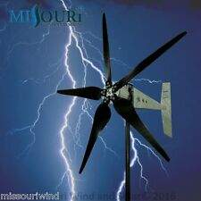 "Raptor G5™ 5 blade 48/96 volt 2000 watt max wind turbine generator 33"" blades"
