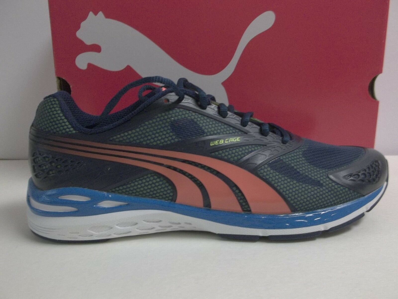 Puma Size 13 M New Mens Bioweb Speed Shoes Sneakers Blue