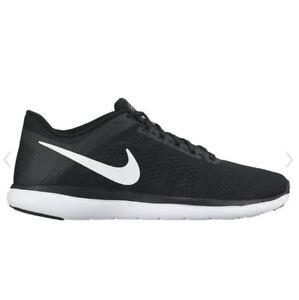 detailed look da1b2 5b67d Image is loading Nike-Flex-RN-Running-Shoes-Black-Womens-UK-