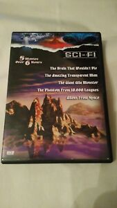 Great-Sci-Fi-Classics-Vol-2-DVD-2003-BRAIN-WOULD-DIE-GIANT-GILA-MONSTER