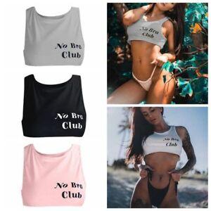 Women-Tank-Vest-Tops-Bra-Blouse-Sexy-Short-Blouse-Crop-Top-Shirt-No-Bra-Club
