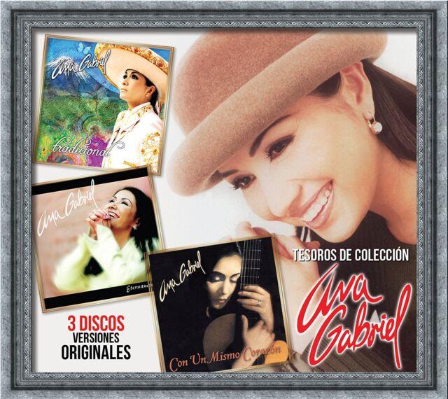Ana Gabriel Tesoros D Coleccion 3cd Tradicional Eternamente Con Un Mismo Corazon For Sale Online Ebay