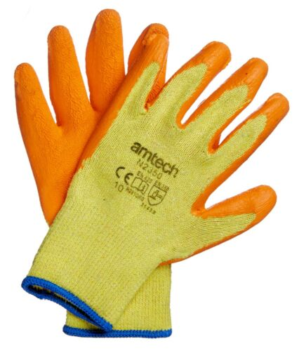 Work Gloves Latex Heavy Duty PVC Terminal Nitrile PU Cut Resistant Disposable