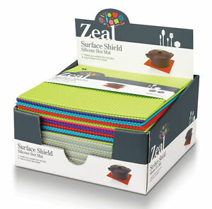 Zeal By Cks Silicone Hot Mat Trivet Surface Shield All
