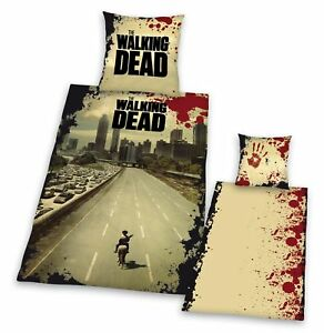 The-Walking-Dead-Wende-Bettwaesche-135-x-200-cm-80-x-80-cm