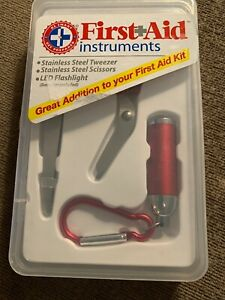 Be Smart Get Prepared First Aid Instruments Kit - 3 tools