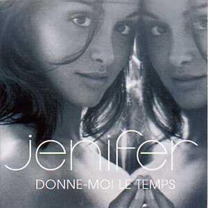 CD-Single-JENIFER-Donne-moi-le-temps-Promo-1-track-CARD