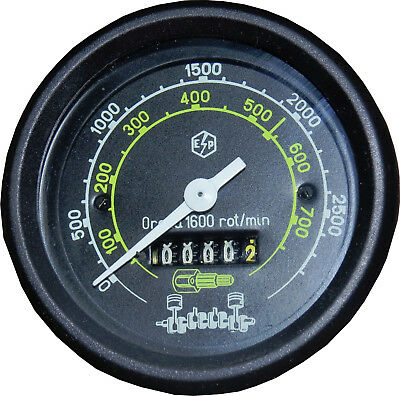 Tachometer Drehzahlmesser UTB TIH Fiat  klemmen 89 Ø mm Armatur Ø mm 79