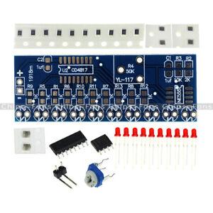 2PCS-NE555-CD4017-Running-LED-Flow-LED-Light-Electronic-Production-Suite-DIY-Kit