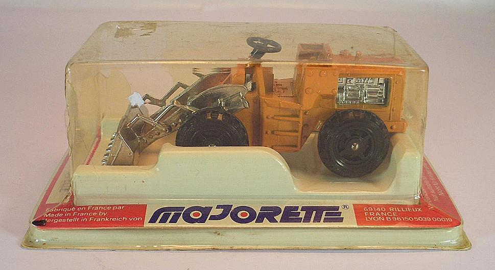 Majorette No. 211 Tracto Pelle Earth Mover Wheel Loader OVP