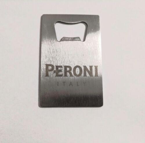 x2 Peroni Nastro Azzuro Credit Card Bottle Opener Beer Bottle Stainless Steel