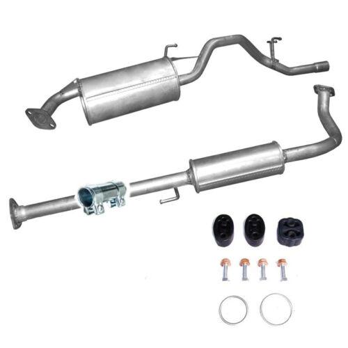 Mitteltopf Endtopf Auspuff dazu Montageset passend für Honda HR-V  1.6i 3-türig