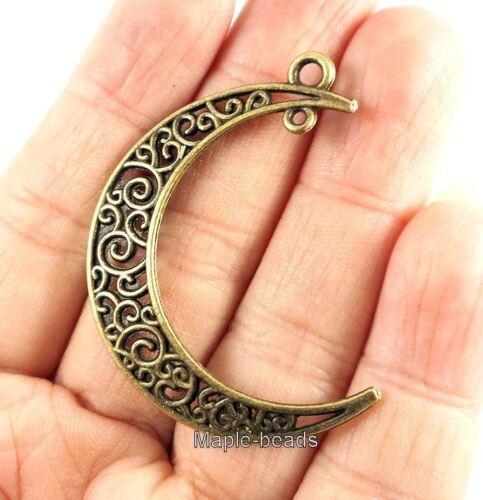 "4pcs,2 pairs-2 loop charm-1.5/"" bohemian earring charm earring connector"