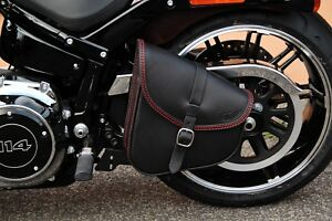 Image Is Loading Swing Arm Bag For Harley Davidson Softail 2018