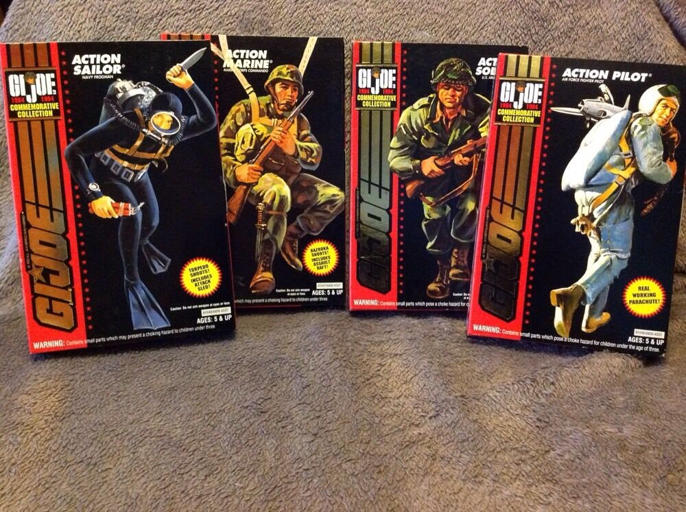 G.I. Joe Commemorative Collection (1964-1994) Complete Set Of 4
