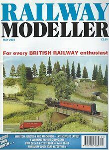 éNergique Railway Modeller May 2003 Doux Et Doux