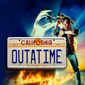 Back-To-The-Future-Inspired-OUTATIME-Usa-METAL-SIGN-RETRO-GARAGE-BAR-Man-CAVE