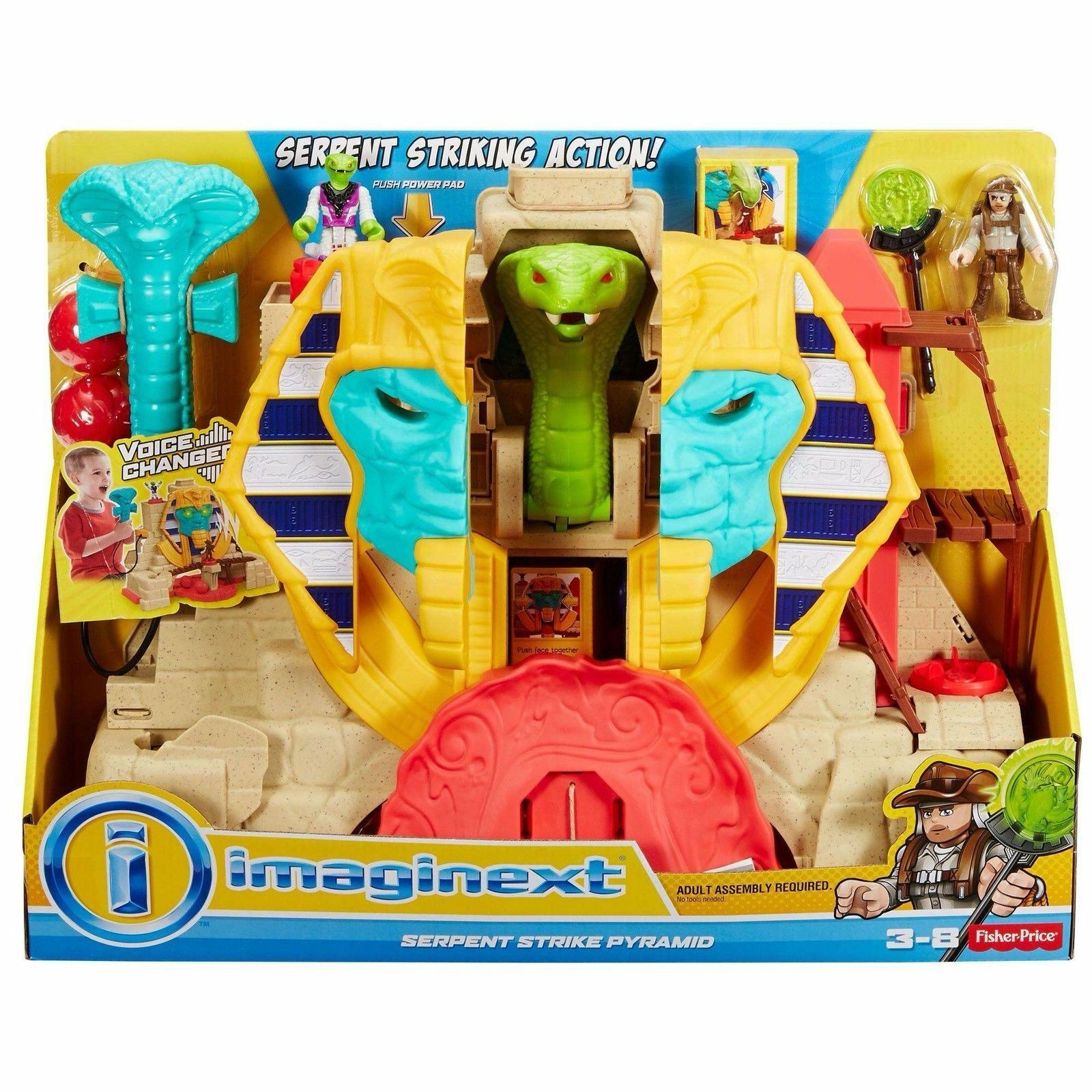 Fisher Price Imaginext Serpent Strike Pyramid DRM07 NEW