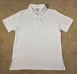 NWT Women's Silhouettes Knit Polo Shirt Top-Yellow, White and Orange