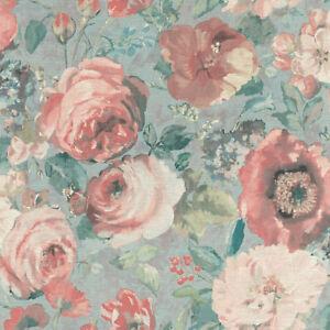 Rasch-Tapete-BARBARA-Schoneberg-527858-GRAN-flores-flores-papel-pintado-fieltro
