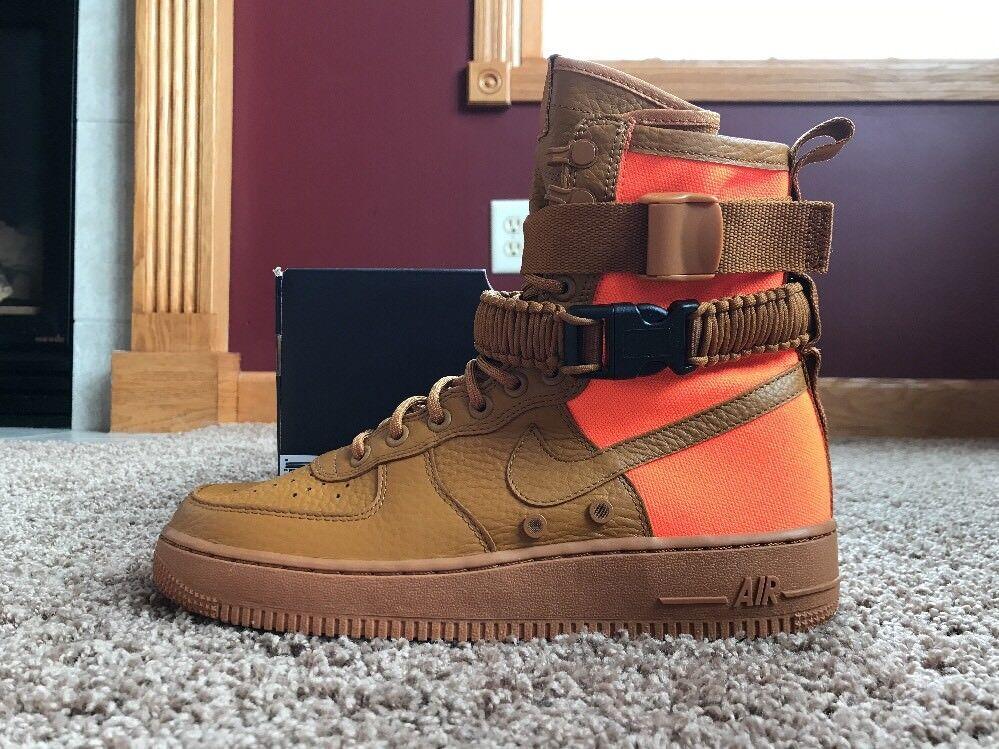 Nike Men's SF AF1 QS Desert Ochre Desert Ochre Size 8 903270 778