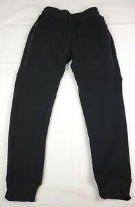 Southpole Mens Standard Basic Jogger Fleece Pants Moto and Zipper Details