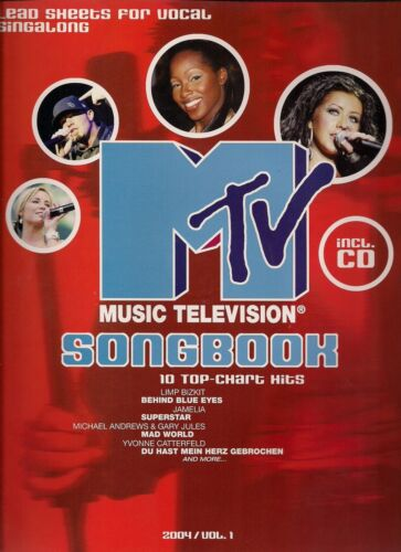 Bosworth Edition MTV Music Television Songbook 2004  Vol 1 incl CD