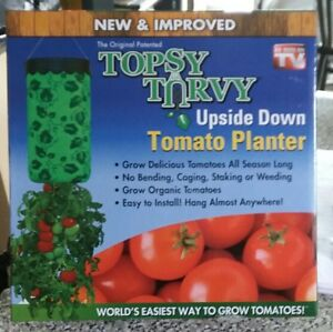 Topsy-Turvy-New-amp-Improved-Upside-Down-Tomato-Planter-As-Seen-On-TV