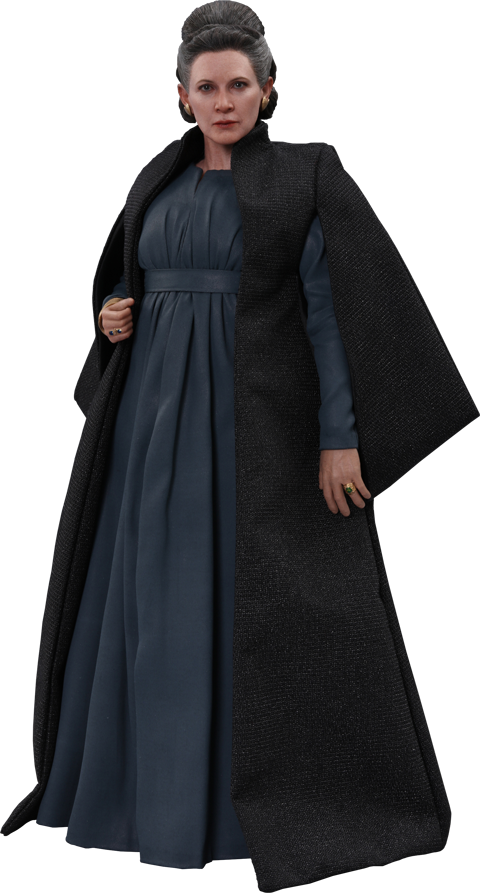 STAR WARS Ep.VIII Carrie Fisher as Leia Organa 1 6 Action Figure Hot Toys MMS459