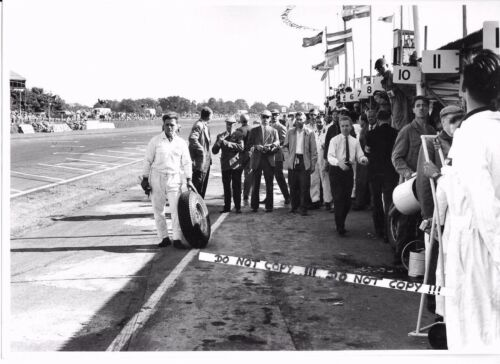 Goodwood TT 1962 John Coombs Pit Portrait Original Period Photograph