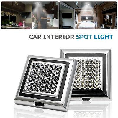 2PCS 12V 42 Spot LED Lampe Plafonnier Panneau Salon Downlight voiture Lumière fr