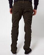 "G-Star Mens Didley 3D Chino Loose Tappered COJ Cords Tarmac 30"" x 32"" BNWT Jeans"