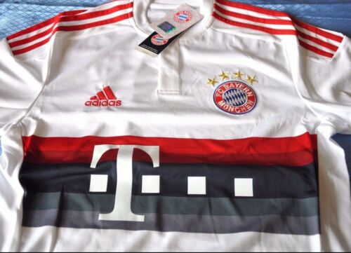 With Vynil sz Small LAST STOC Adult New Bayern Munchen Shirt Away 2015-2016