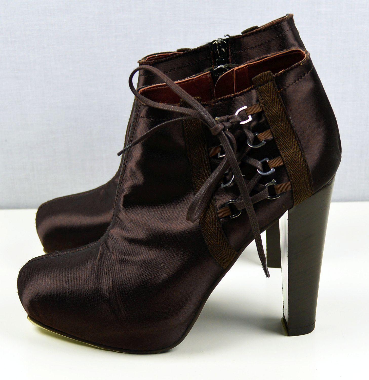 Stefanel Damenschuhe Stiefeletten High Heel Plateau schuhe boots 22101604