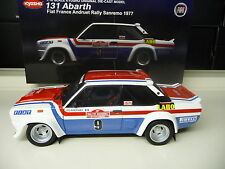 1:18 KYOSHO Fiat 131 Abarth Rallye San Remo 1977 Andruet #9 NEU NEW