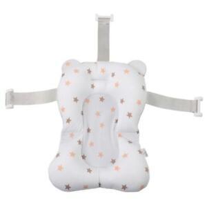 Baby-Shower-Bath-Tub-Pad-Bathtub-Mat-Newborn-Safety-Bath-Cushion-3-White