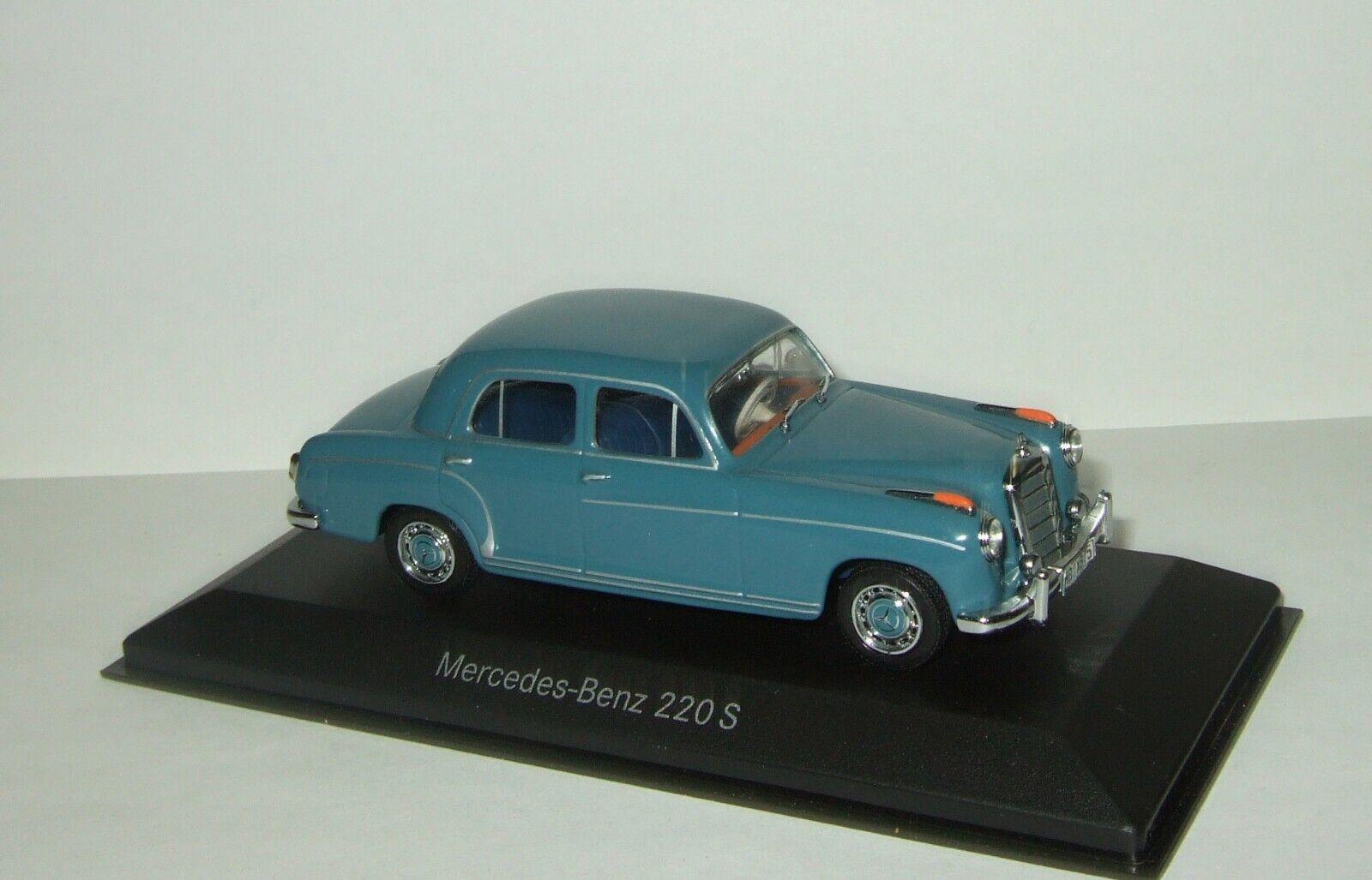 1 43 Minichamps Mercedes Benz 220 S W128 1959 limousine RARE